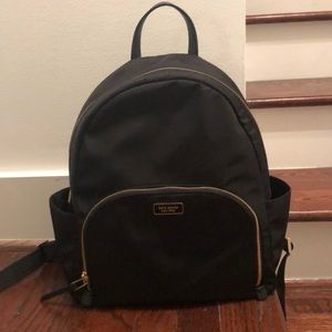 Kate Spade Backpack Gold colored Zipper